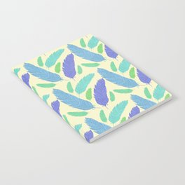 Patterned Feather Pattern Notebook
