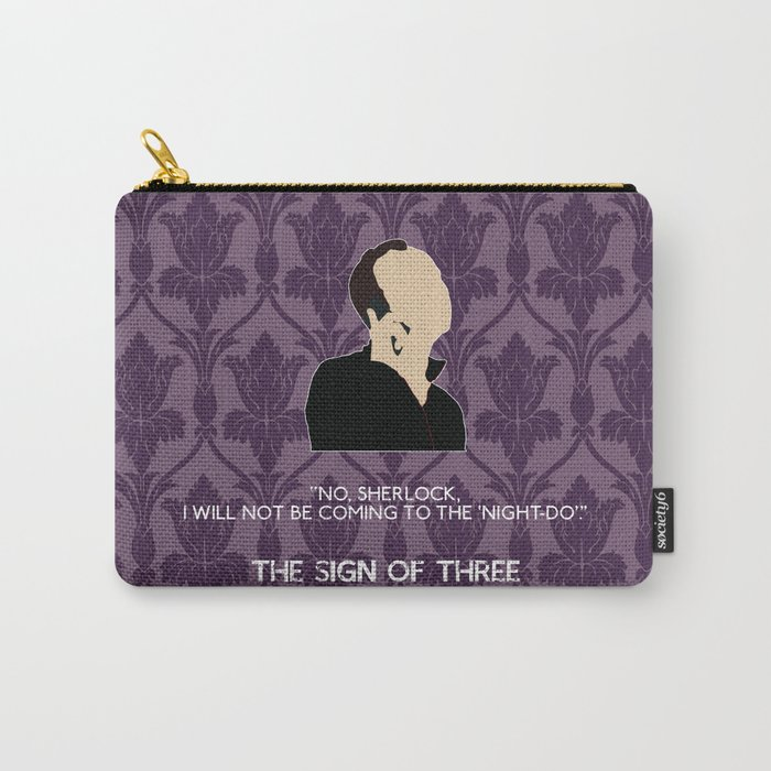 The Sign of Three - Mycroft Holmes Carry-All Pouch
