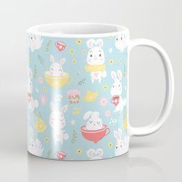 Spring Bunnies Coffee Mug