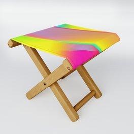 Rainbow series I Folding Stool