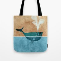 moby Tote Bags featuring moby by John Beswick
