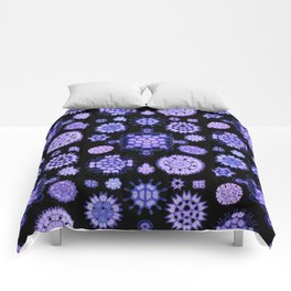 Ernst Haeckel - Melethallia (Purple) Comforters