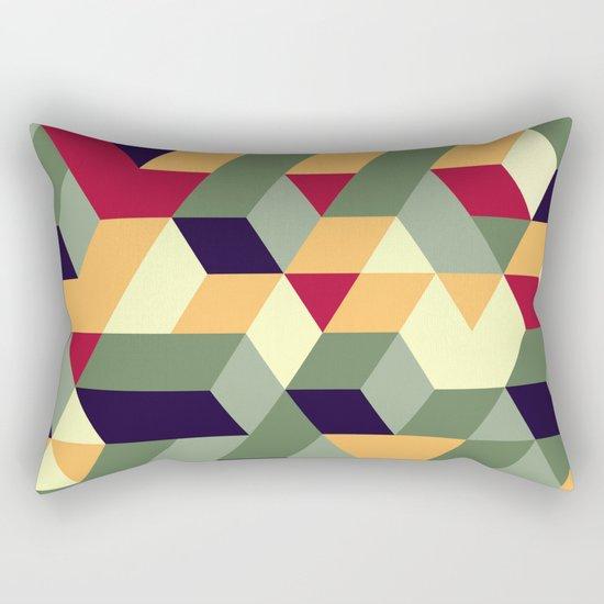 Cube way Rectangular Pillow