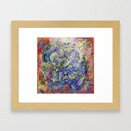 Accumulation  Framed Art Print