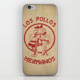 Los Pollos Hermanos vintage ( Breaking Bad ) iPhone Skin