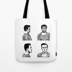 Dick and Perry Tote Bag