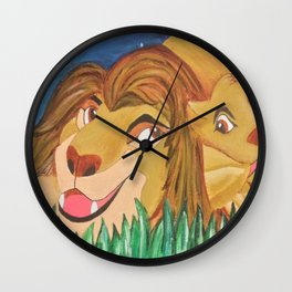 Quality Time Wall Clock