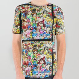 Nintendo Tribute All Over Graphic Tee