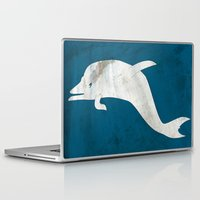 dolphin Laptop & iPad Skins featuring Dolphin by Renato Armignacco
