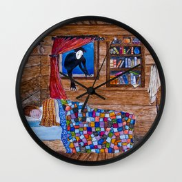 The Coming of the Bwbach Wall Clock
