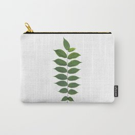 Green Leaf Botanical Print Carry-All Pouch