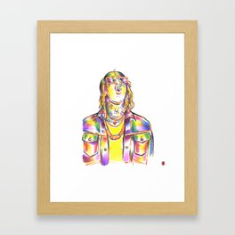Young Thug - GQ 2016 Framed Art Print