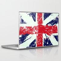 union jack Laptop & iPad Skins featuring Union Jack  by UrbanCandy