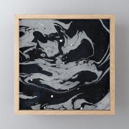 Marble Love 003 Framed Mini Art Print