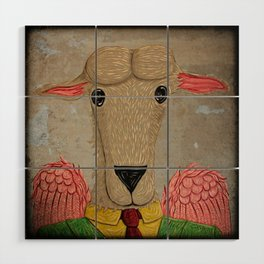 Micalef Sheep Wood Wall Art