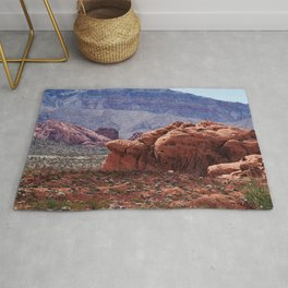 Valley of Fire Rocks Rug