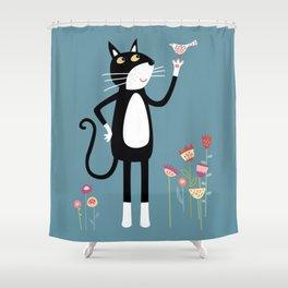 Mild Peril Shower Curtain