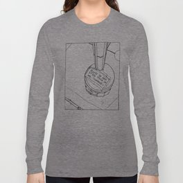 Please Don't Stick Trash In Me Long Sleeve T-shirt
