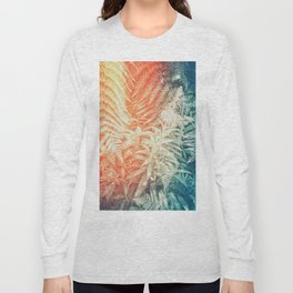 Fern and Fireweed 02 - Retro Long Sleeve T-shirt