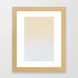 Broken Monitor Framed Art Print