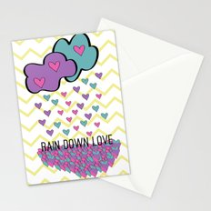 Rain Down Love Stationery Cards