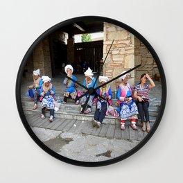 A Joyful Life Wall Clock