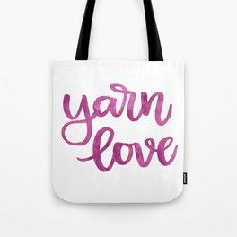 Yarn Love - Fuchsia Tote Bag