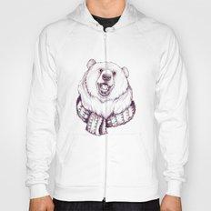 Bear & Scarf Hoody