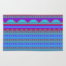 Mexican Aztec ethnic pattern Rug