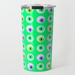 eyeballs Travel Mug