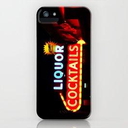 Atomic Cocktails iPhone Case