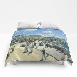 Renoir - Pont Neuf, Paris, 1872 Comforters