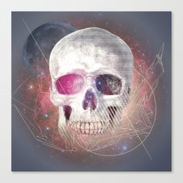 Astral Skull Canvas Print