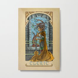 La Clerc - The Cleric Metal Print