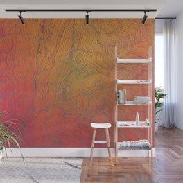 Auric Waves Wall Mural