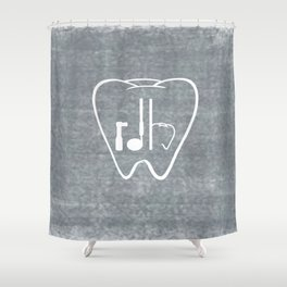 RDH Tooth Shower Curtain