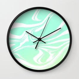 Round marble Wall Clock