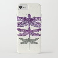 dragonfly iPhone & iPod Cases featuring Dragonfly  by rskinner1122
