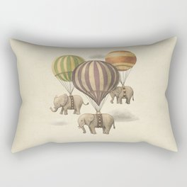 Flight of The Elephants Rectangular Pillow