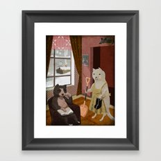 After Christmas Framed Art Print