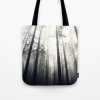 abyss Tote Bags featuring Abyss by Aida Gradina