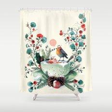 Wesh Love. Shower Curtain