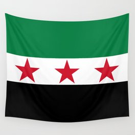 Syrian Independence Flag  High quality Wall Tapestry