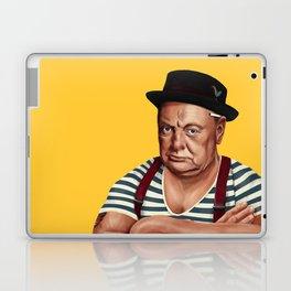 Hipstory -  Winston Churchill Laptop & iPad Skin