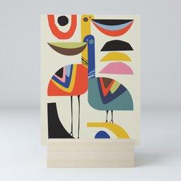 Pelican Love Mini Art Print