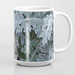 Dusty Miller Leaves Coffee Mug
