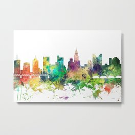 Columbus, Ohio skyline SP Metal Print