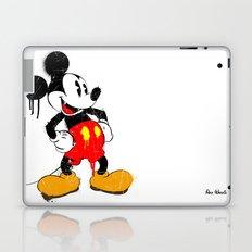 Mickey The Warrior Mouse Laptop & iPad Skin