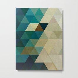 Harmonic colored pattern Metal Print