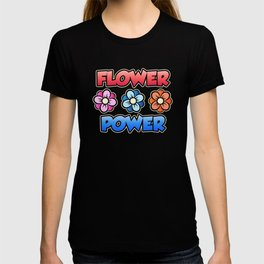 Flower Power Botanic Garden Forces Combined T-shirt